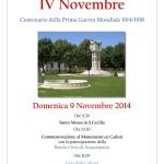 Locandina IV Novembre