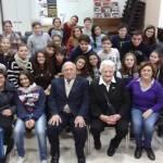 Foto gruppo alunni Bovio