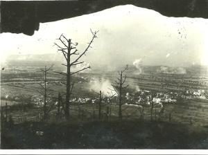 I bombardamenti visti dalla trincea