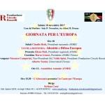 Locandina Giornata per l'Europa_18 novembre_2017