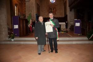 Ivo Pianesi-Anmig Macerata-Inaugurazione Parco Rimembranza