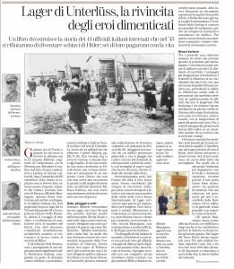 La Stampa 26 aprile 2016 pag. 27