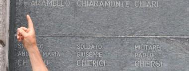Il soldato Angelo Chiantia ricordato nel Sacrario di Caporetto