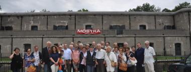 Nella foto allegata si vede il gruppo davanti al Col Roncone di Rive d'Arcano.