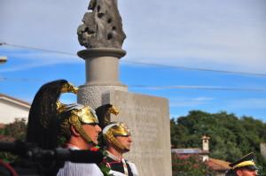 Monumento inaugurato a Doberdò dai due Presidenti
