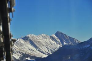 Il Monte Nero (Kern) visto dal Monte Canin