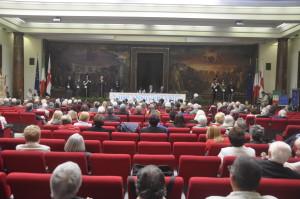 Sala del Convegno nella sede A.N.M.I.G. di Milano