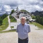 Una vista del Santuario del Monte Lussari - Tarvisio (Ud)