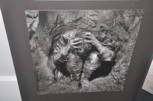 Fotografia della vita intrincea sotto le bombe