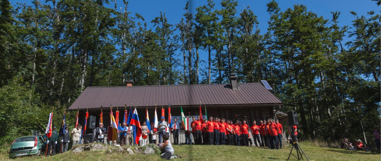 74° Raduno nella Selva di Tarnova - Idrja