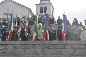 Il Presidente della sezione ANMIG di Monfalcone durante la cerimonia