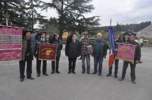 I Mutilati ed Invalidi di Guerra del Friuli Venezia Giulia con alcune delegazioni consorelle