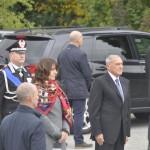 Il Presidente del Senato on. Pietro Grasso a ll'arrivo alla cerimonia di Redipuglia - 4 novembre 2017 - foto: G. Picco