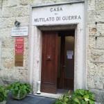 casa mutilato di guerra sede anmig umbria perugia ingresso principale