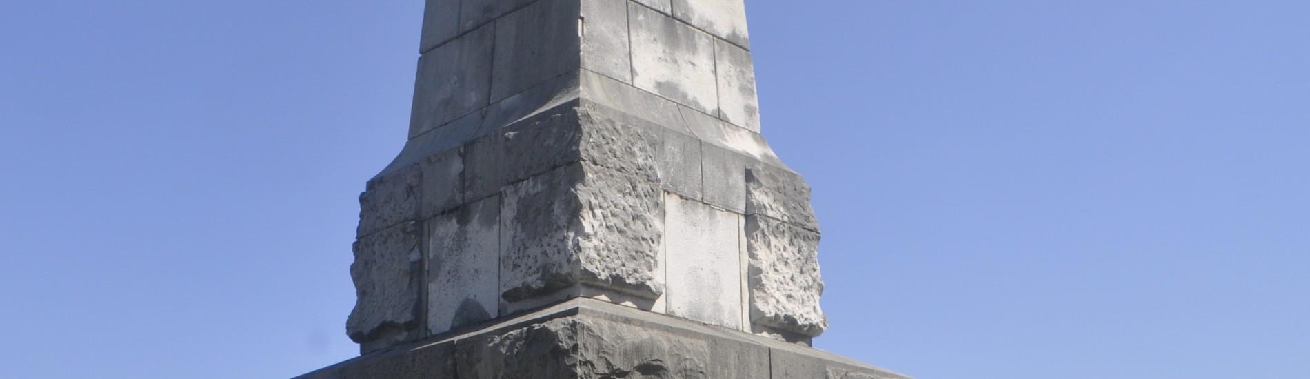Cippo dei 4 Generali sopra Oslavia