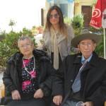 25.04.2014 con moglie e nipote