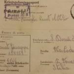 12 una cartolina dal campo di lavoro coatto in Germania
