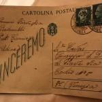 15 cartolina inviata alla famiglia Ervas
