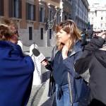 Maria Grazia Folloni (v.presidente ANMIG Modena) intervistata dal programma Agorà.