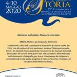 Locandina della partecipazione di ANMIG Modena